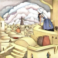 """Exhibition """"I Belong Here: Places and Scenes of Israel in Children Books Illustrations from 1948 until 2014"""""""