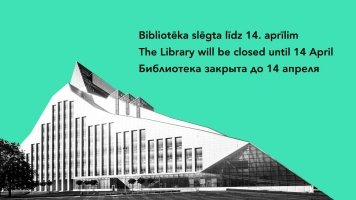 Library will be closed until 14 April