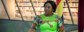 Minister of Foreign Affairs and Regional Integration of Ghana Shirley Ayorkor-Botchwey